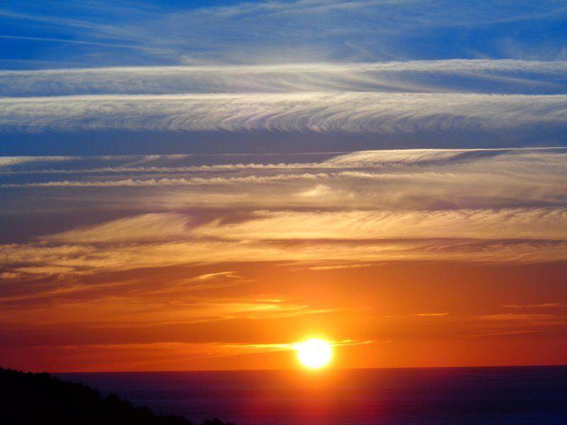 Hondarribia puesta de sol for Puesta de sol