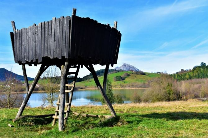 Torre de vigilancia : foto en Aretxabaleta